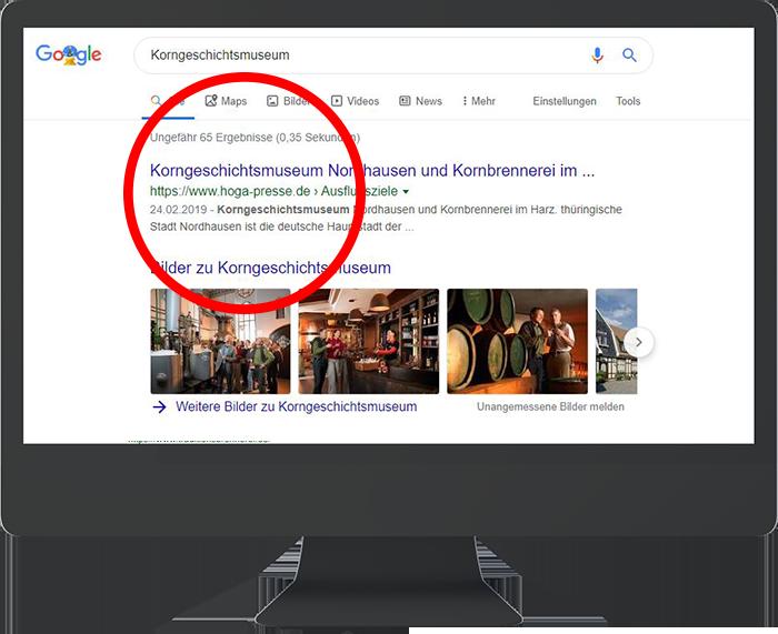 Top Google Platzierung durch gezieltes Hotel Marketing