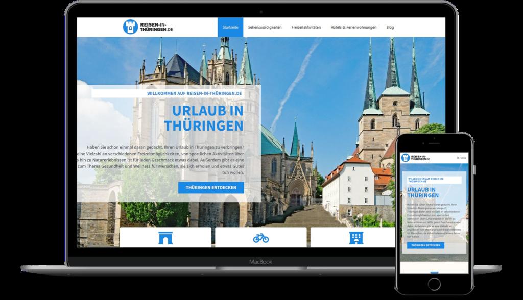 Reisen-in-Thüringen.de - Werbung für Ihr Hotel oder Restaurant in Thüringen
