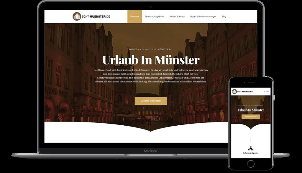 Echt-Muenster.de - Werbung für Ihr Hotel oder Restaurant in Münster