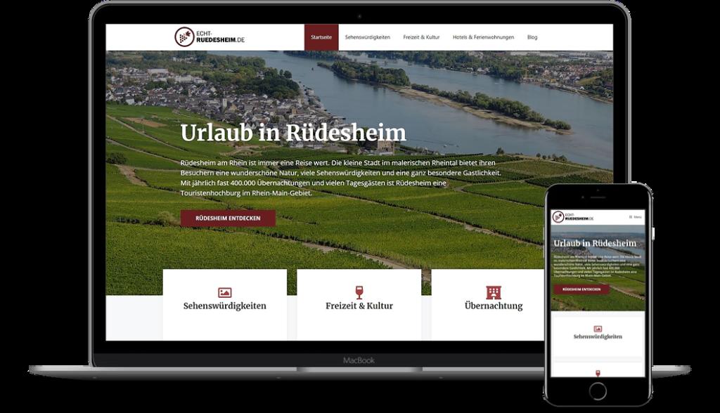 Echt-Ruedesheim.de - Werbung für Ihr Hotel oder Restaurant in Rüdesheim am Rhein