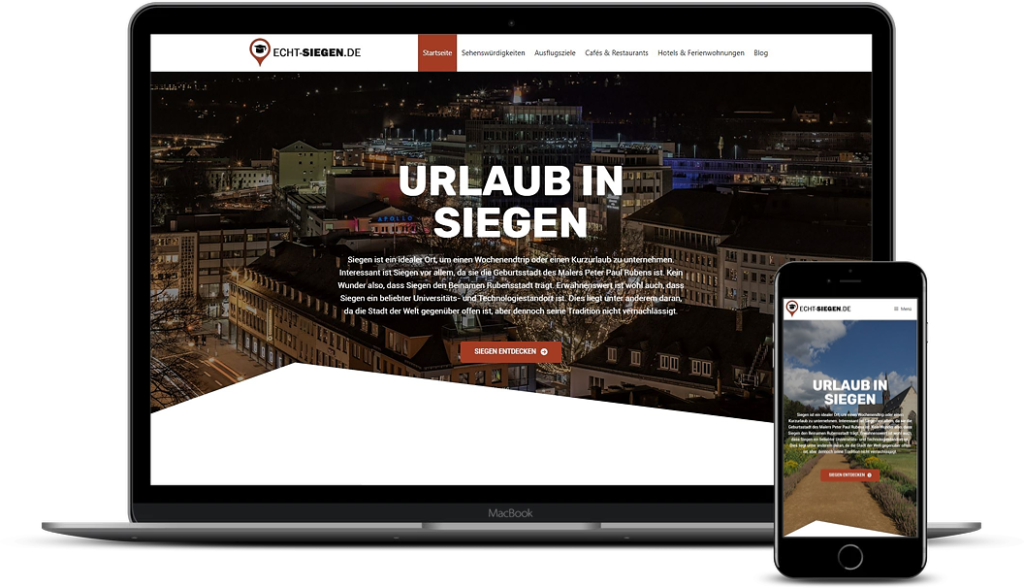 Echt-Siegen.de - Werbung für Ihr Hotel oder Restaurant in Siegen