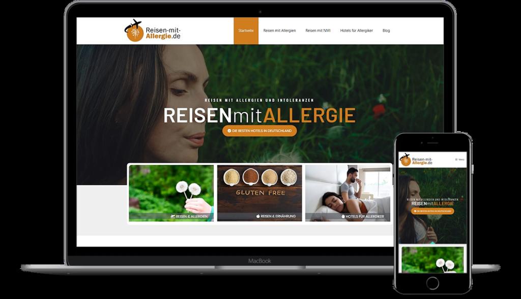 Reisen-mit-Allergie.de - Werbung für Ihr Hotel oder Restaurant für Reisende mit Allergien