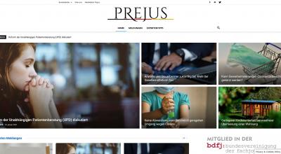 PreJus - Presseportal für juristische Meldungen und Recht - www.prejus.de
