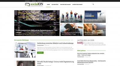 socialON - Presseportal für Social Media News - Pressemitteilungen So_ - www.socialon.de